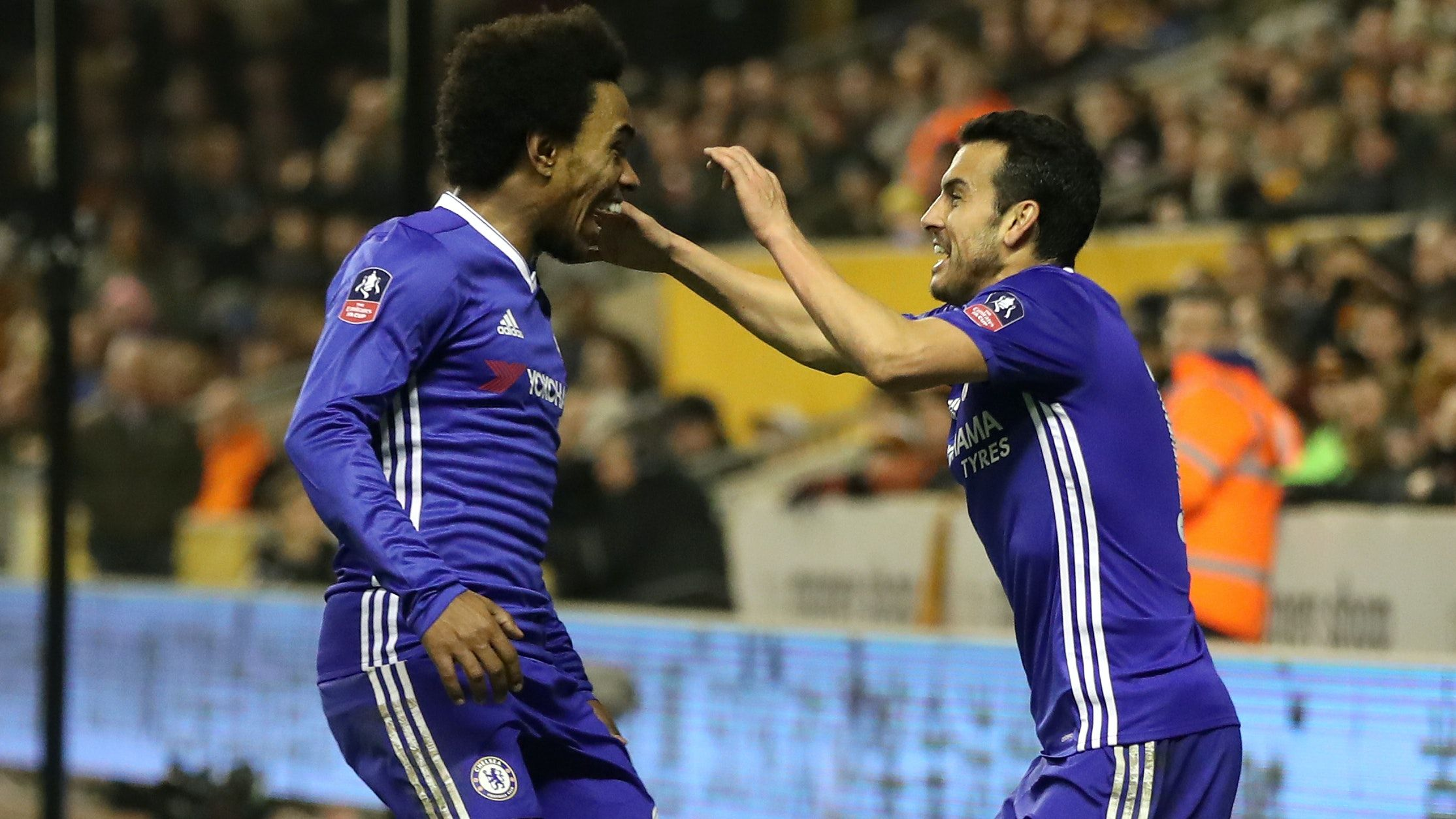 Chelsea extends contracts with Willian and Pedro until the end of season
