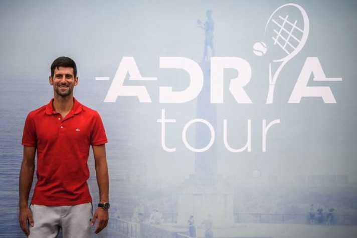 Djokovic to enter Adria Tour as men's tennis returns