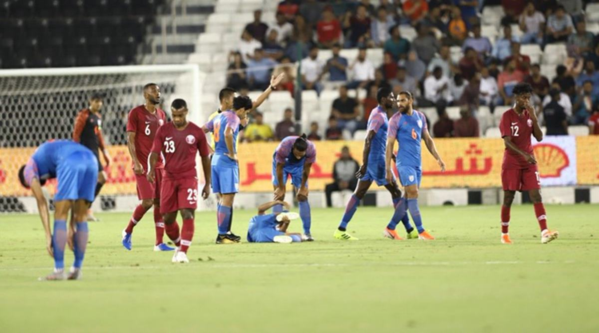 Indian Football Team to play against Qatar in the upcoming AFC Qualifiers