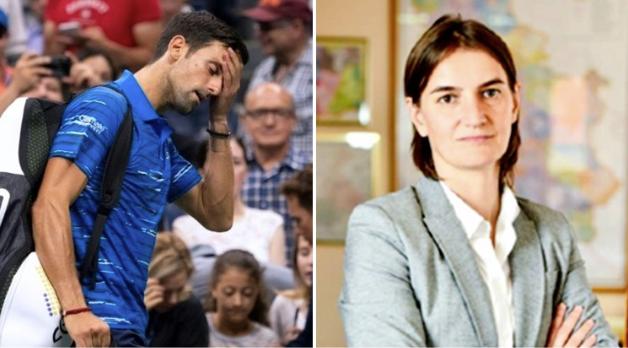 Serbian Prime Minister defends Novak Djokovic