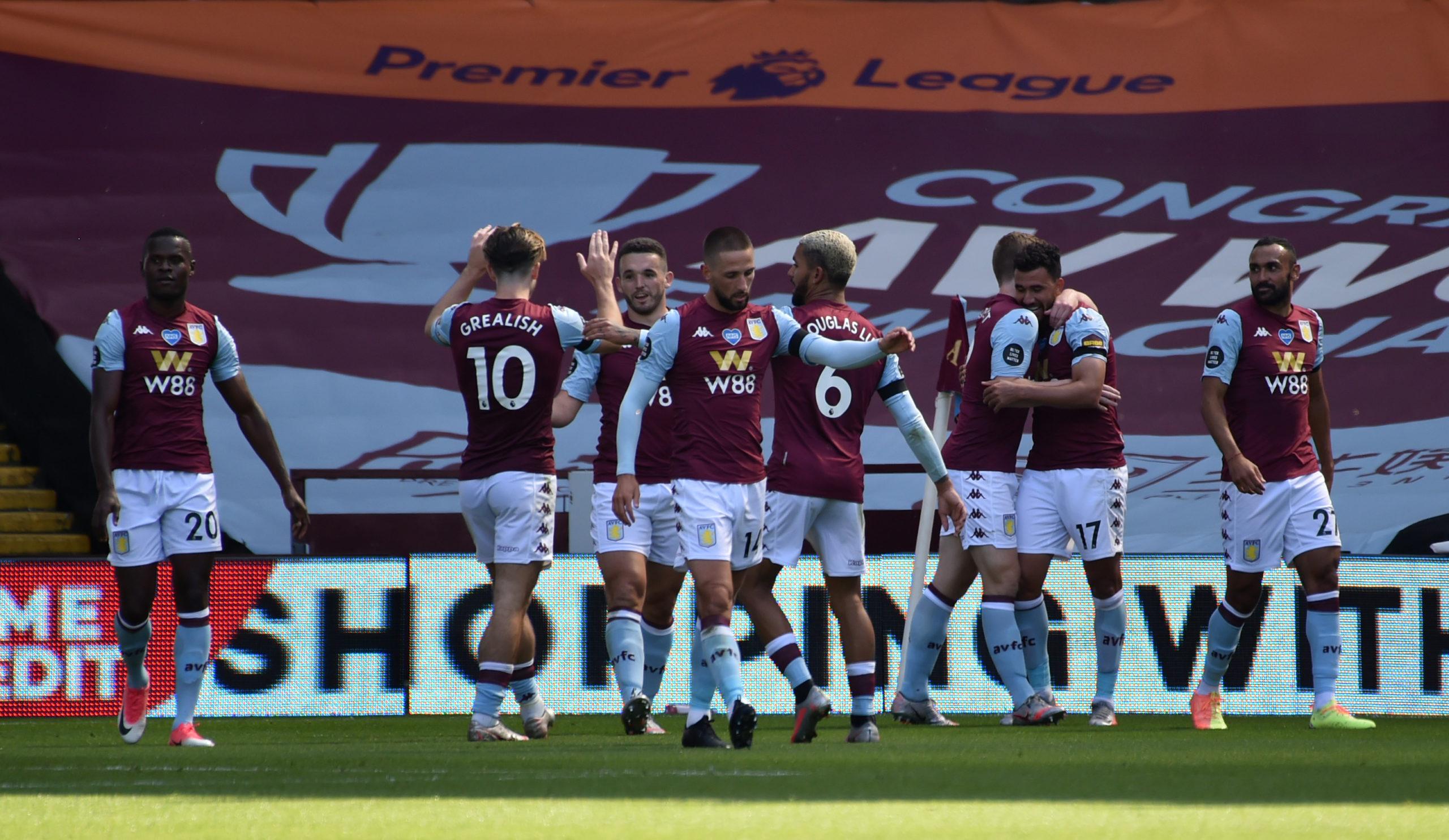 Aston Villa defeat Crystal Palace by 2-0 as Trézéguet scores twice