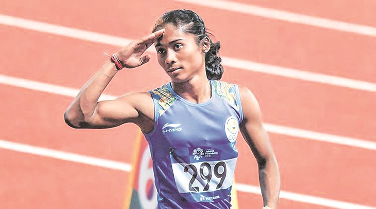 Hima Das not worried about her qualification in Tokyo Olympics