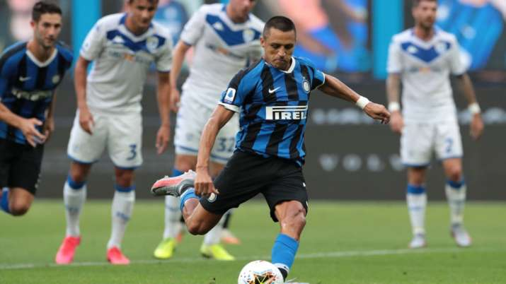 Inter Milan secure a dominating win over Brescia by 6-0