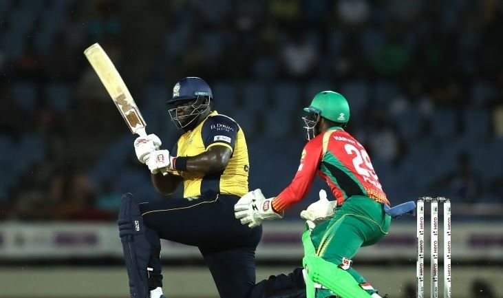 Rahkeem Cornwall in CPL