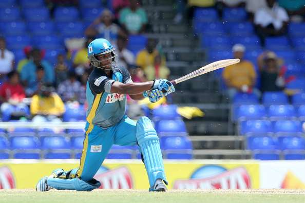 Johnson Charles batting in CPL