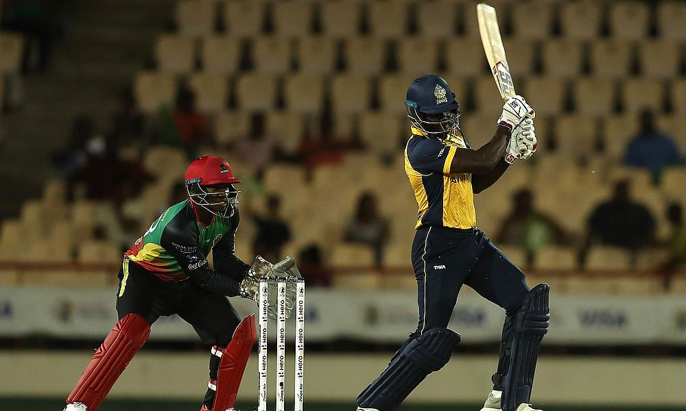 St Lucia Zouks batting for Andre Fletcher
