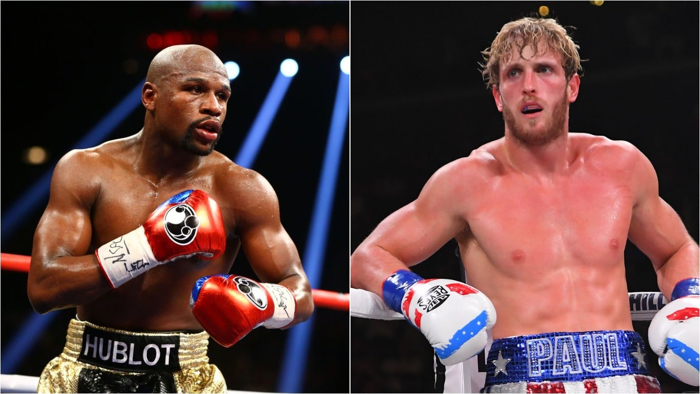 Floyd Mayweather To Fight Youtuber Logan Paul In Exhibition Fight In February