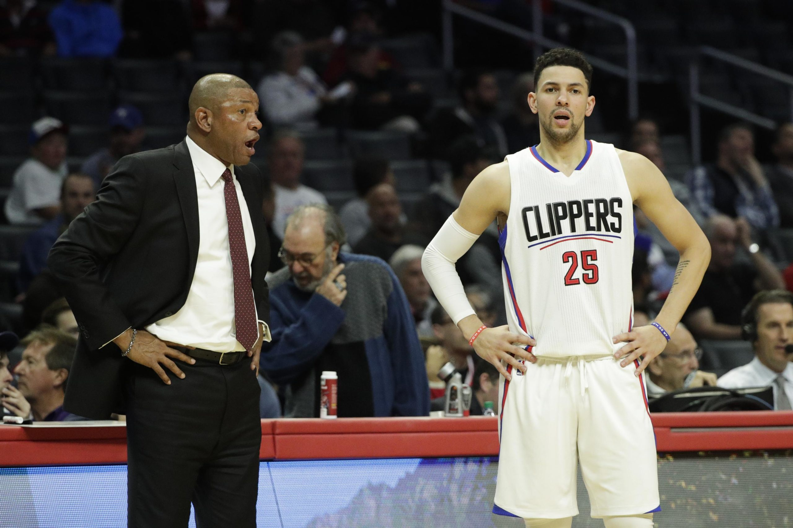 Doc Rivers Speaks Out On Austin Rivers Trade To New York Knicks